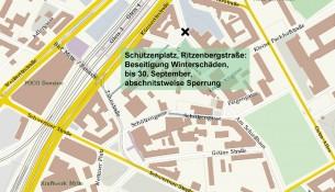 Baustelle Schützenplatz