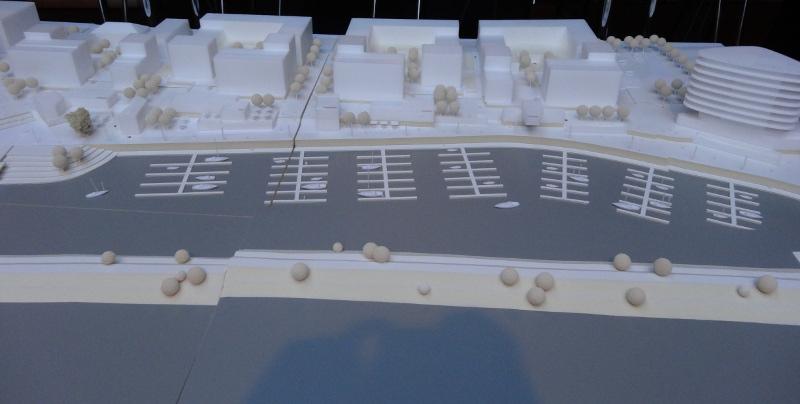 Modell Hafencity