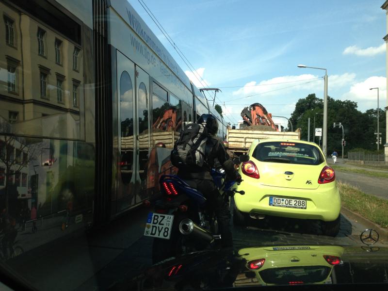 Verkehrsentwicklung in Dresden