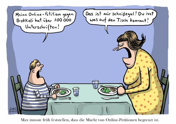 """Landschulz """"Online-Petition"""""""