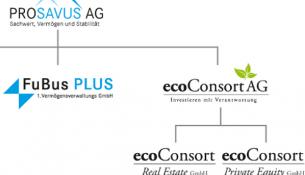 ecoConsort AG Organigramm