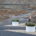 Wo noch vor kurzem Segways rollten, wird jetzt das Gelände für den Bau von 54 Wohnungen vorbereitet