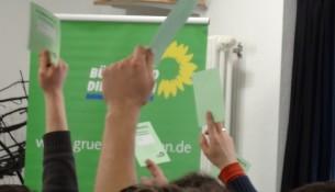Stadtparteitag Grüne Dresden