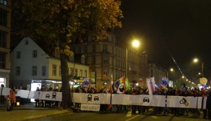 Köngisbrücker Straße Demo