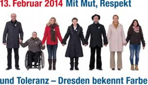 13. Februar Menschenkette