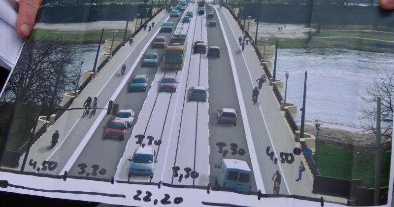 Alberbrücke nach Fertigstellung