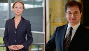 Sabine von Schorlemer und Serge Dorny