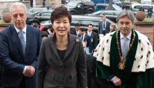Park Geun-hye an der TU Dresden