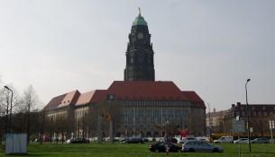 Bei der Rathaussanierung in Dresden gibt es Probleme