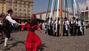 Der Frühjahrsmarkt in Dresden ist eröffnet