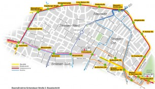 Schandauer Straße Umleitung