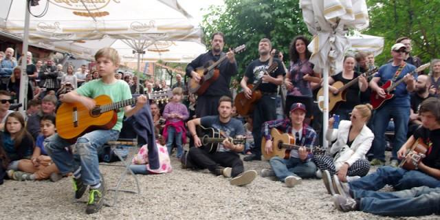 Das 1. Thanks Jimi Festival in Dresden.