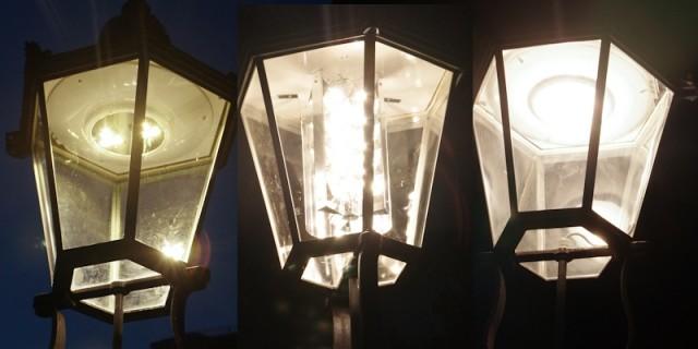 Kandelaber mit LED-Technik