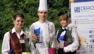Sarah Heinrich, Chephren Kasten und Helén Friedel
