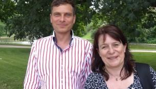 Grünen-Doppelspitze Christiane Filius-Jehne und Thomas Löserr