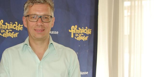 Jörg Polenz von den Filmnächten Dresden