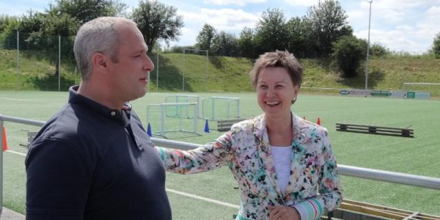 SG Gebergrund Goppel Helma Orosz und Berno Herklotz