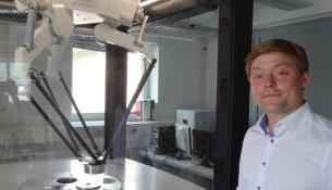 Revobotik-Gründer Michael Döring