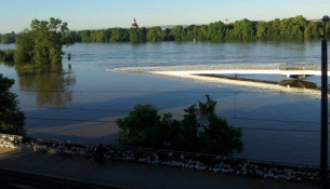hochwasser juni pieschen