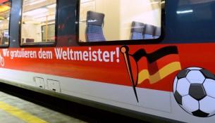 Deutsche Bahn Weltmeister Glückwunsch