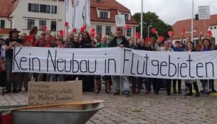 Freiraum Elbtal Demo Stadtrat