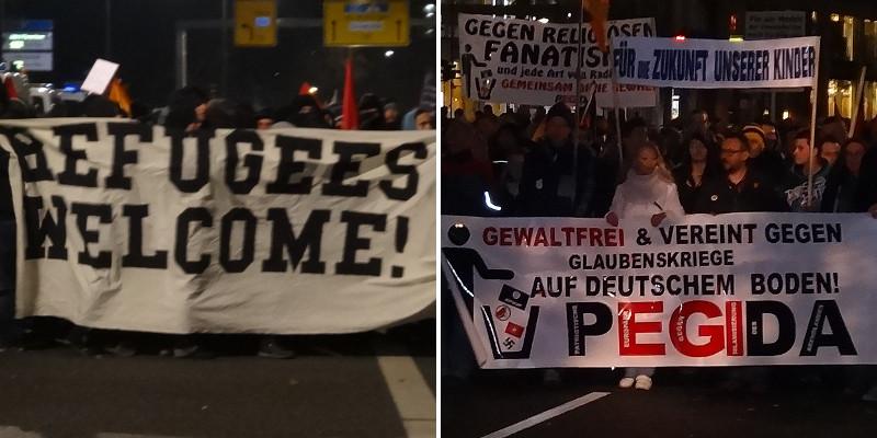 pegida refugees