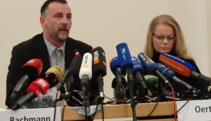 Bachmann Lutz Oertel Kathrin Pegida-PK