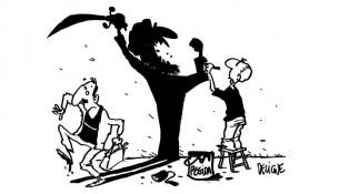 Karikatur frederic deligne