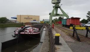 Alberthafen historisches Terminal