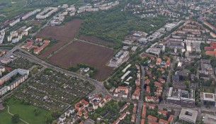 Südvorstadt Luftaufnahme