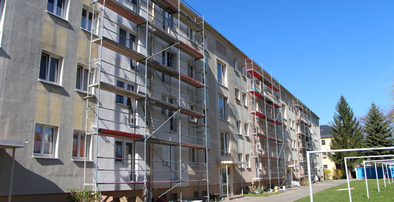 Balkonanbau Hegerstraße