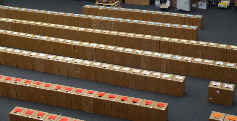 Wahlen OB 1205 kartons