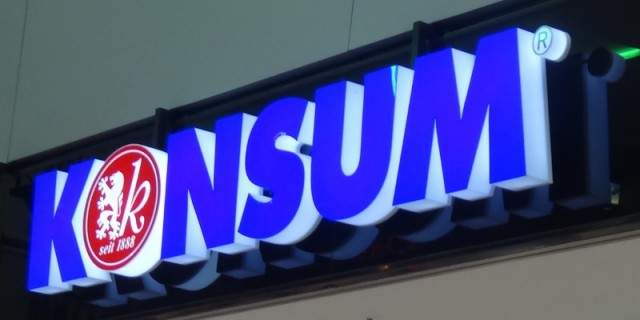 Konsum Logo Centrumgalerie