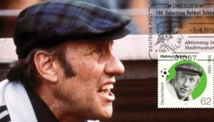 Briefmarke Helmut Schön