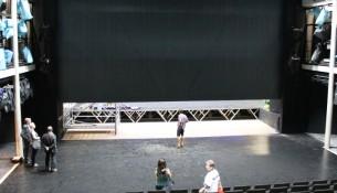 Staatsschauspiel Kleines Haus Eiserner Vorhang 2008