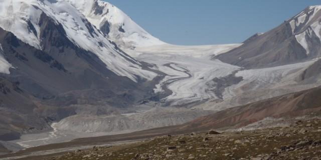 Tien-Shan-Gletscher