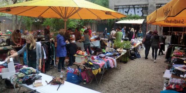 Troedelmarkt luisengarten