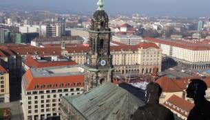 Dresden vom Rathausturm