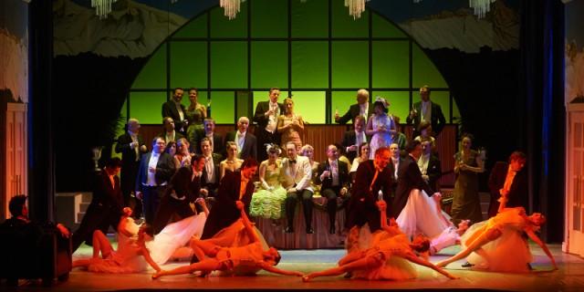 """Zum Jahresbeginn 2017 wird es in der neuen Spielstätte im Kraftwerk Mitte eine Neuauflage der Operette  """"Die Fledermaus"""" geben -  etwas opulenter und  mit großem Ballsaal. Foto: Stephan Floß"""