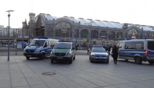 Wiener Platz Polizeieinsatz