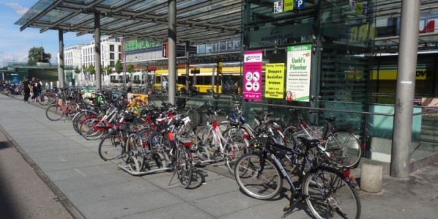 Fahrräder Hauptbahnhof
