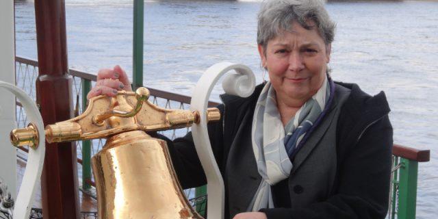Karin Hildebrand, Geschäftsführerin  Sächsische Dampfschifffahrt und Elbezeit: Man darf den Mut nicht verlieren. Foto: W. Schenk