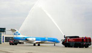 KLM Flughafen Dresden