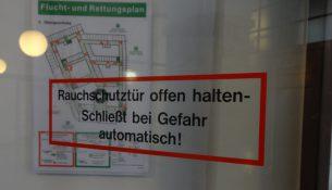 Rathaus Brandschutz tuer