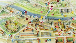 Lageplan Dresdner Stadtfest