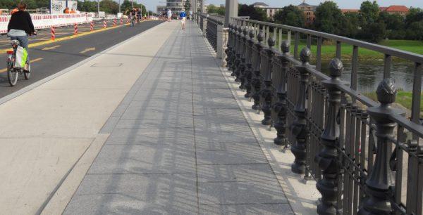 Albertbrücke radweg