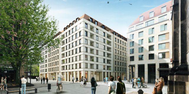 Revitalis Wohnquartier an der Kreuzkirche_Copyright cube visualisierungen
