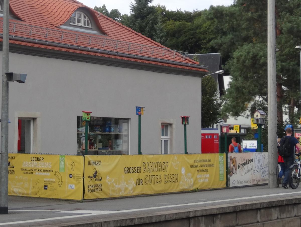 Klotzsche Biobahnhof vogelhaus