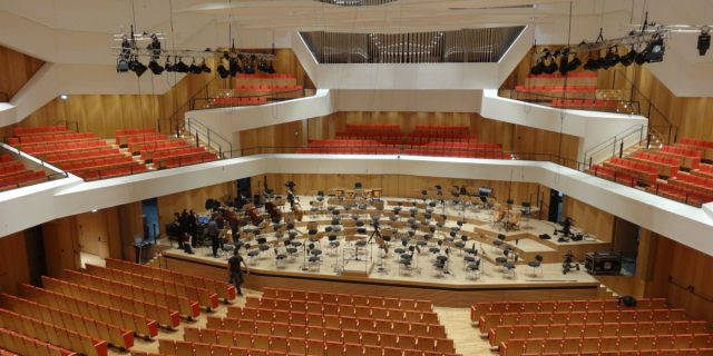 Kulturpalast fertig orgel