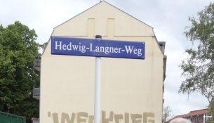 Pieschener Melodien Hedwig Langner Weg